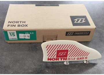 NORTH FIN BOX FS 5.0 CARBON 15