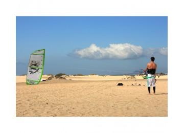 Cours kitesurf plage