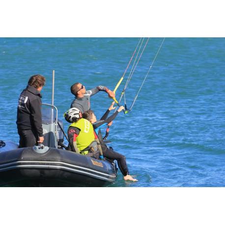 Cours kitesurf débutant Cap d'Agde